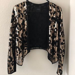 Sequin shawl
